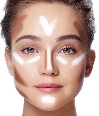 Ako byť krásna? Kontúrujte svoju tvár do dokonalosti.