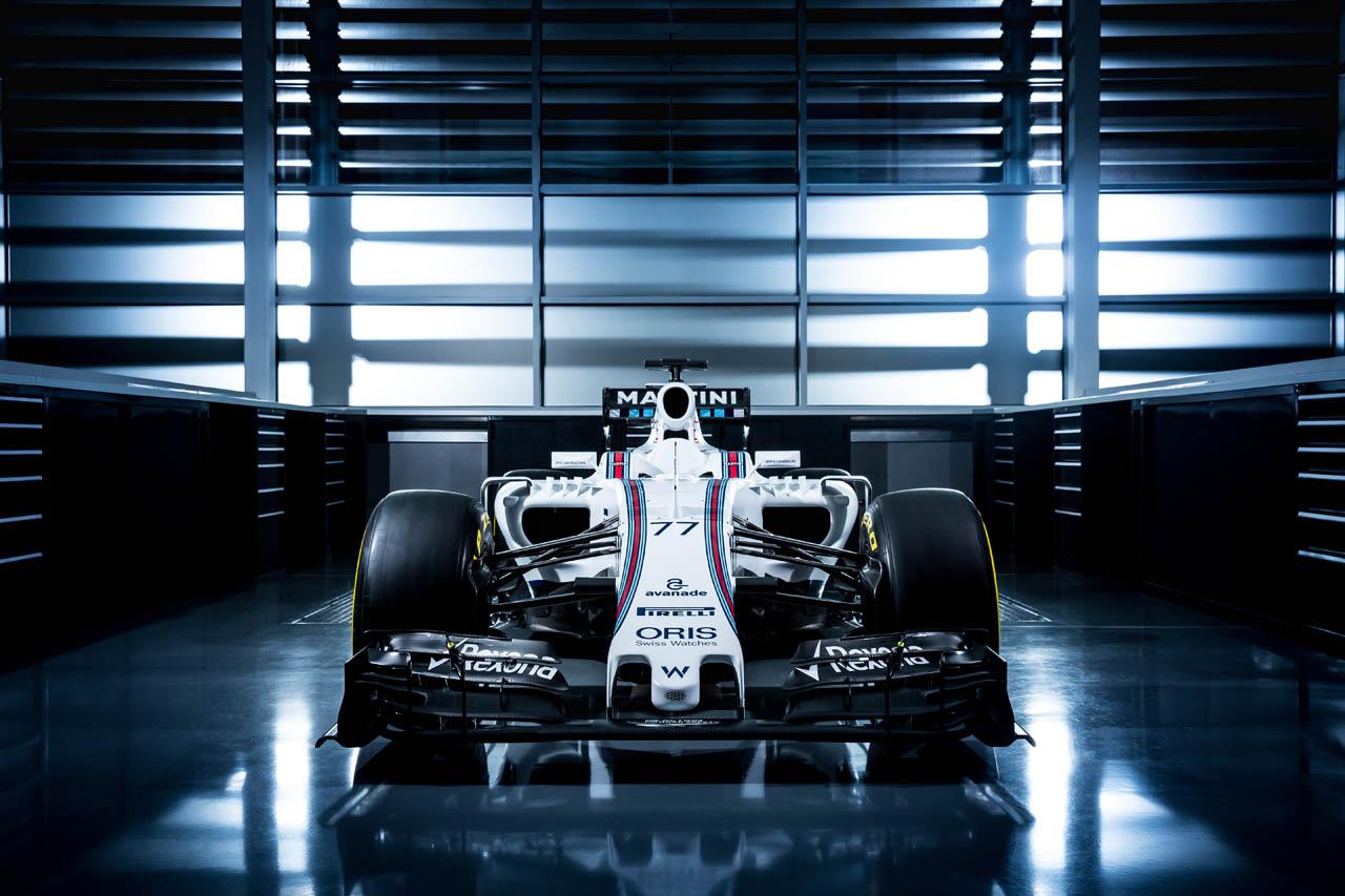 January 2015 The Williams FW38 Photo: Williams F1 ref: Digital Image WS8A8558