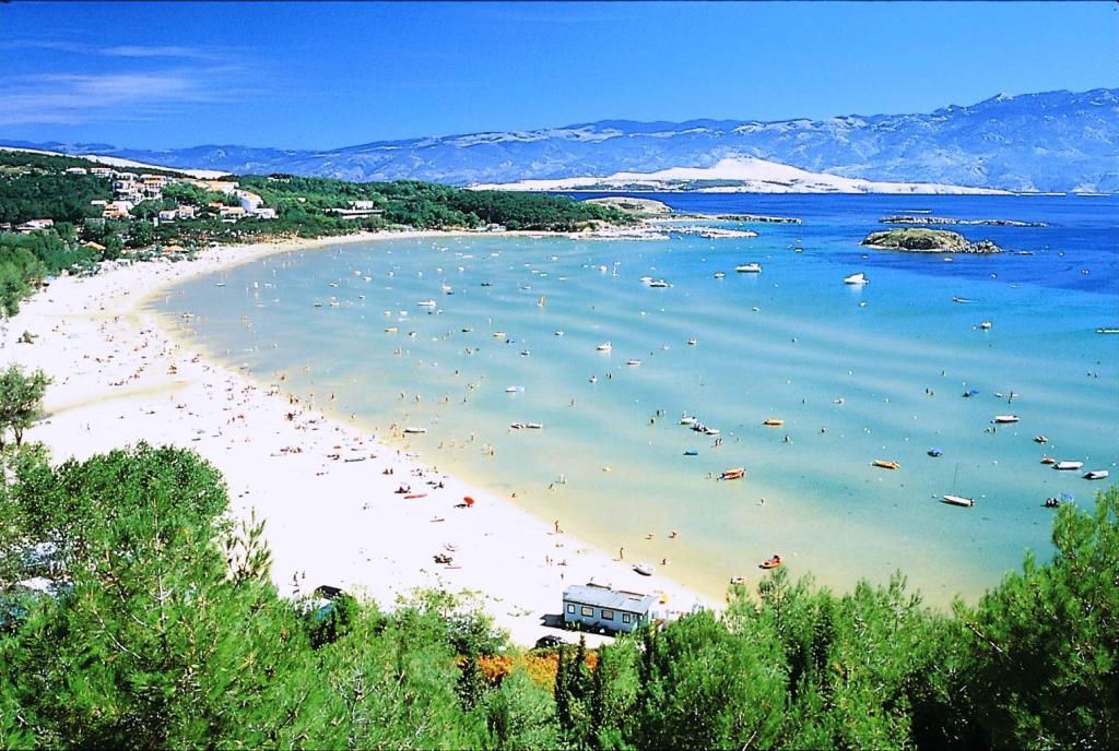 Piesočnaté pláže v Chorvátsku