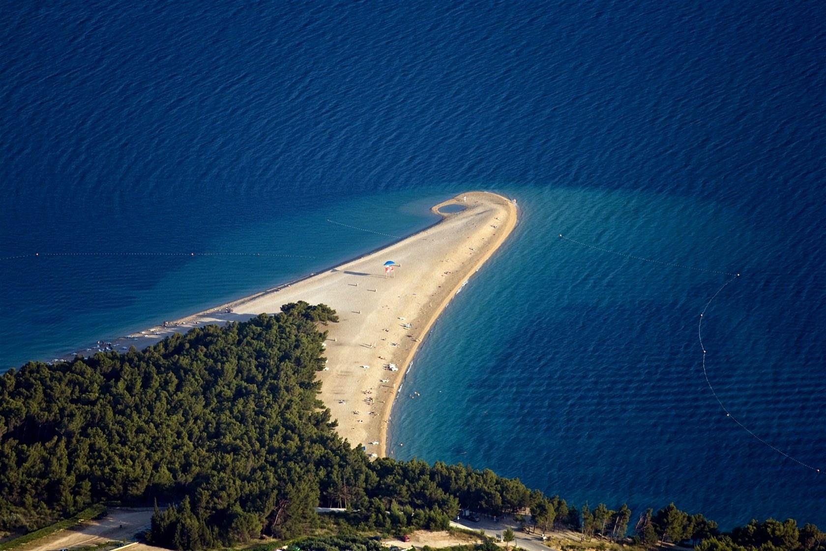 TOP pláže v Chorvátsku