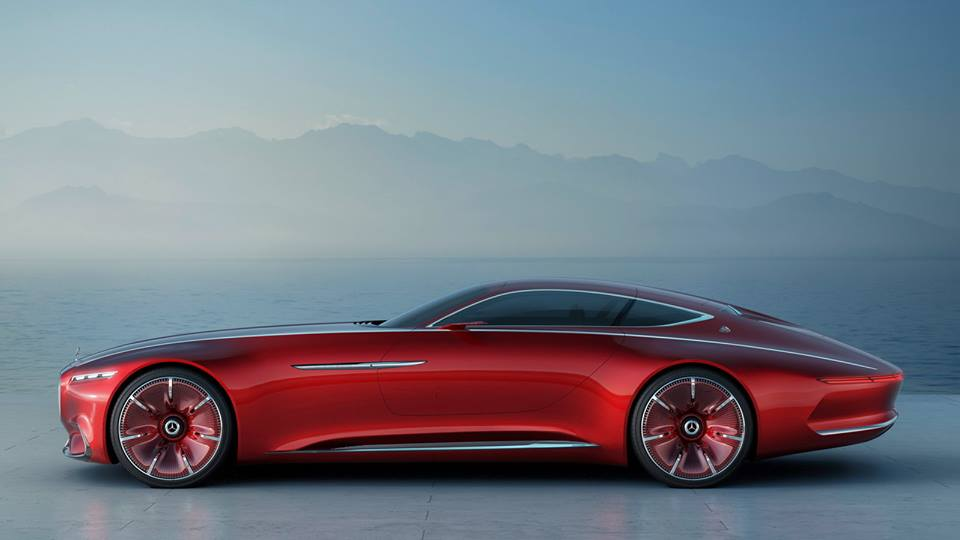 Vision Mercedes-Maybach 6 / Official photo