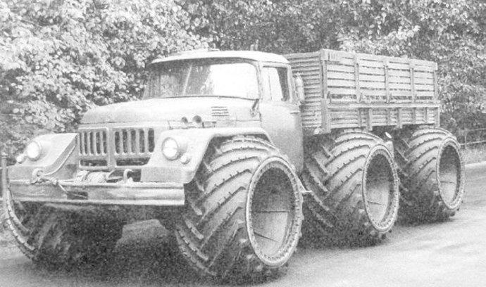 Najdivokejšie prototypy sovietských náklaďiakov