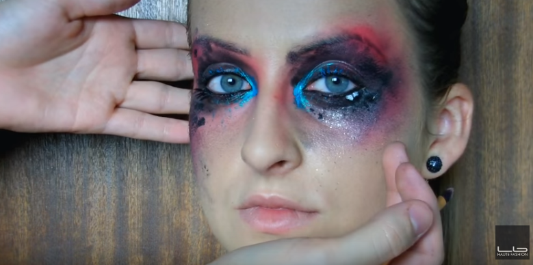 Módny výbuch make-upu – líčenie na halloween alebo aj keď to neviete v praxi