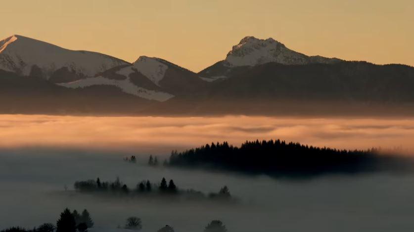 Krásy slovenskej prírody zhrnuté do troch minút