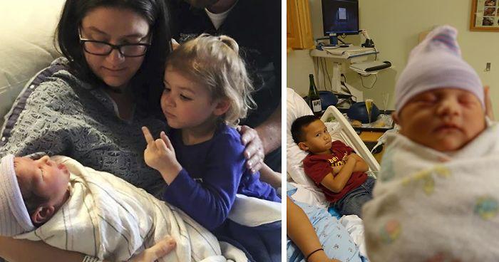 Desať detí, ktoré sa zo súrodenca veľmi netešili