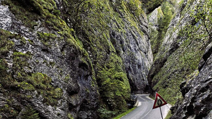 Najkrajšia tiesňava v strednej Európe: pre klaustorfobikov peklo, pre iných cestovateľský raj