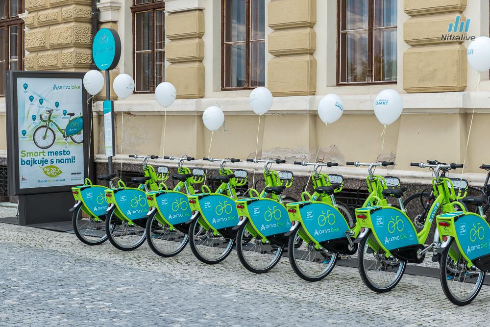 """Nitra sa pridala k vyspelému svetu, spustila """"bike sharing"""""""
