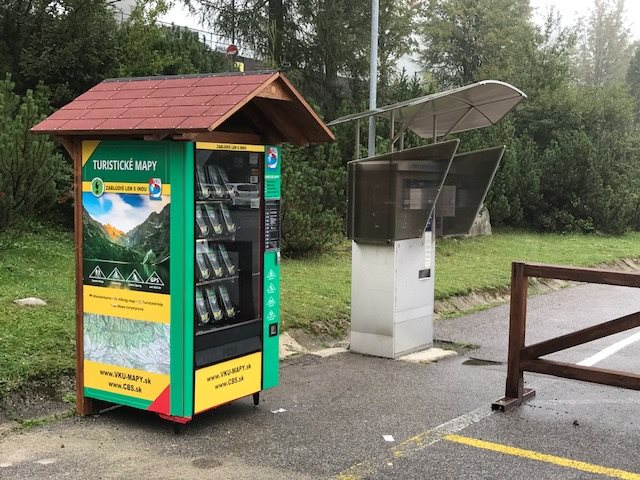 Revolúcia v turizme? Na Slovensku štartujú automaty s turistickými mapami