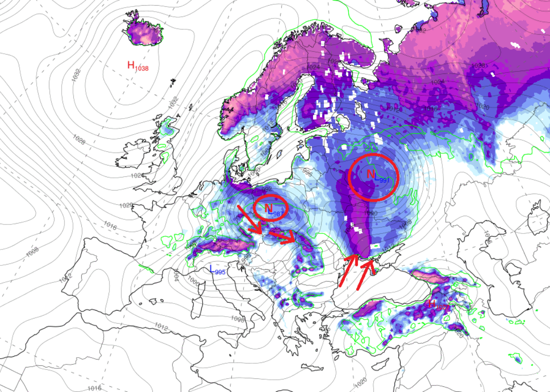 Budúci týždeň nás čaká poriadna fujavica, snežiť bude od Vladivostoku až po Francúzsko
