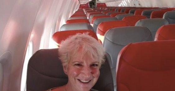 Žena zaplatila 46 libier, na dovolenku letela v lietadle sama
