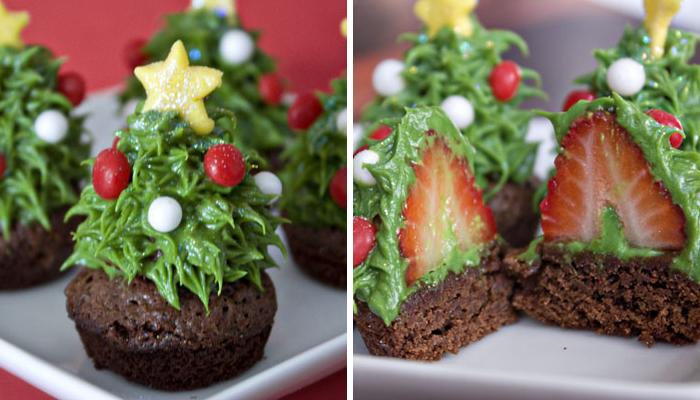 Došli vám recepty na vianočné koláče? Čo tak vyskúšať tieto kreatívne muffiny