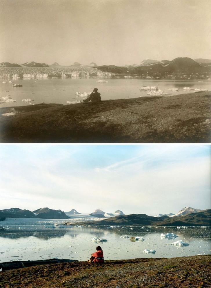 Šokujúce fotky ako sa za 100 rokov, drasticky zmenili ľadovce