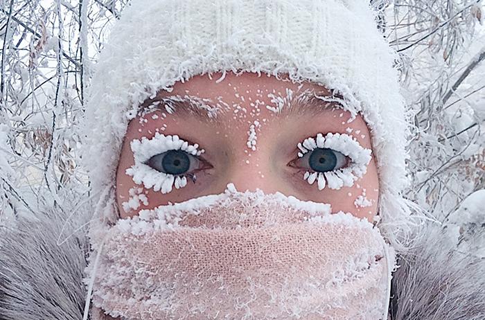 Dychberúce obrázky z najmrazivejšieho mestečka na svete Oymyakon, kde teplota prekonala -62 stupňov Celzia
