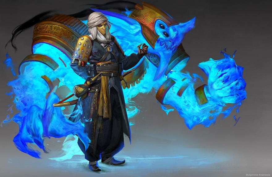 Ako by to vyzeralo, keby boli krajiny samotné postavy s bojovým duchom?