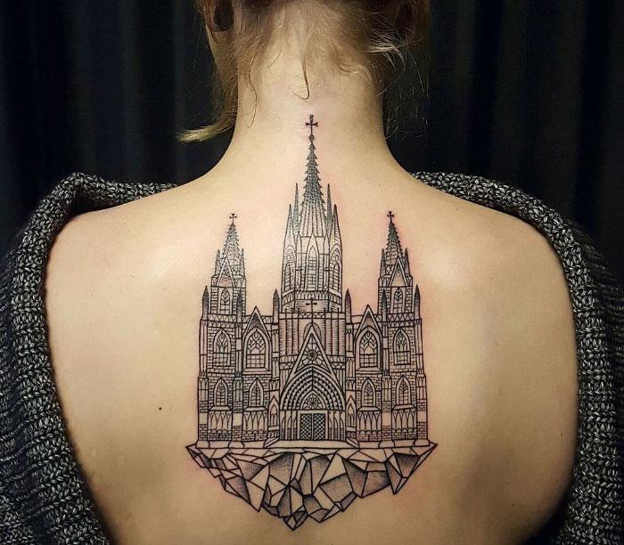 Desať architektonických tetovaní, ktoré vám vyrazia dych