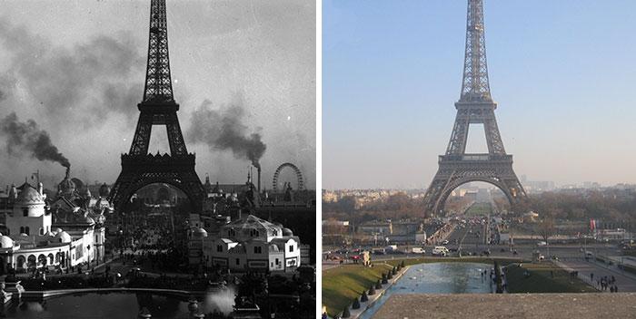 Neuveriteľná premena Paríža, ktorou prešiel za posledných sto rokov
