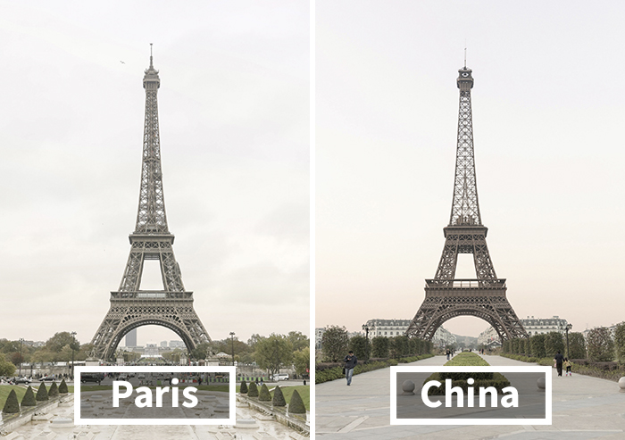 Čína miluje Paríž, preto si ho doma postavila sama