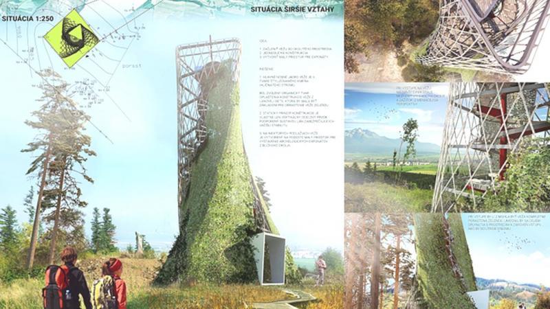 Krásu Popradu a Tatier si vychutnáte z krásnej vyhliadkovej veže