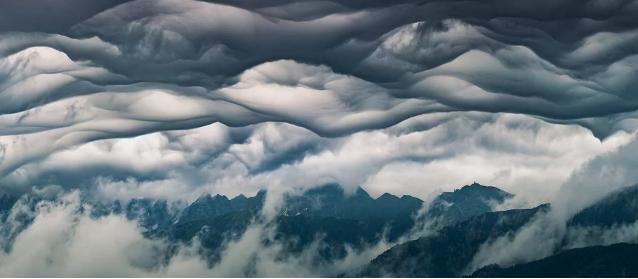Nádhera! V Tatrách sme pozorovali tento ojedinelý mrak
