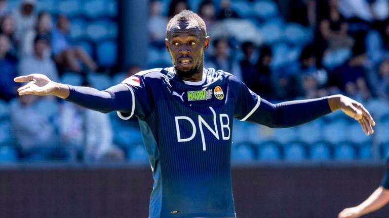 Usain Bolt odštartoval kariéru futbalistu, zahral si za prvoligistu