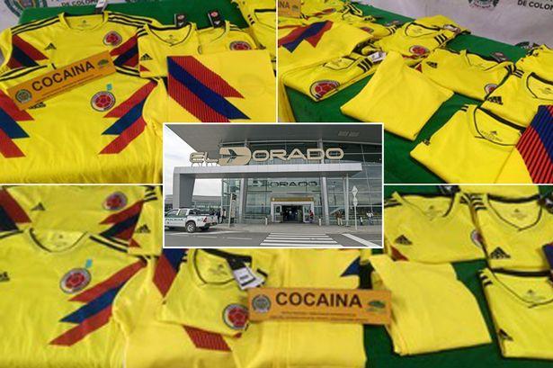 Polícia zadržala kolumbijské dresy, boli napustené 70 kilami kokaínu