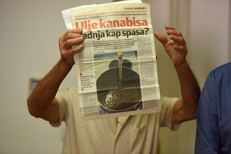 Chorvátsko má svojho Escobara, dedko ale trávou pomáha ľuďom