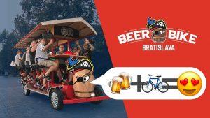 Beer Bike v Bratislave