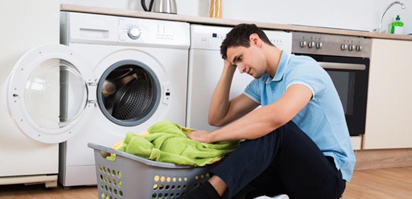 4 chyby pri vkladaní bielizne do práčky