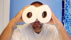 Ako dlho vám vydrží toaletný papier?