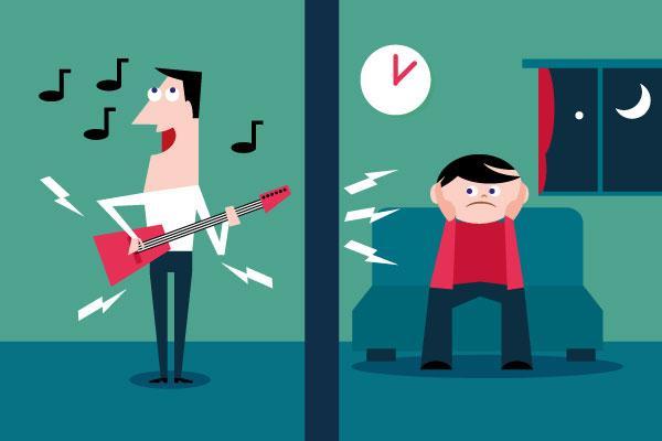 Ako izolovať byt od nechceného hluku od susedov?