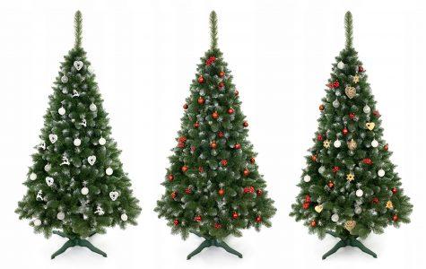 Vianočný stromček môže byť aj umelý
